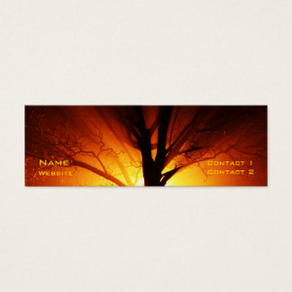 Fire Tree Mini Business Card