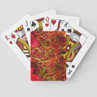 Fire Trees Collectors edition Playing Cards