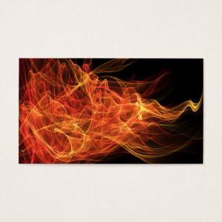 Fire Triangle Business Card