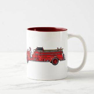 Fire Truck_01 & 02 Two-Tone Mug