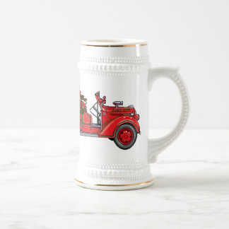 Fire Truck_01 Beer Steins