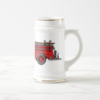 Fire Truck_02 Beer Steins
