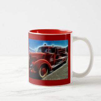 fire-truck-68276 DIGITAL REALISM HOT TRANSPORTTION Mug