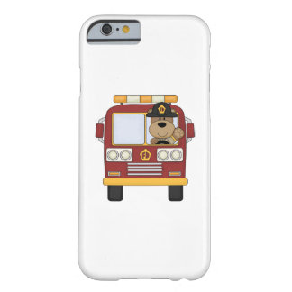 Fire Truck Bear Barely There iPhone 6 Case