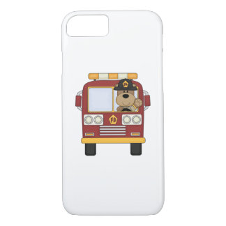 Fire Truck Bear iPhone 7 Case