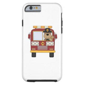 Fire Truck Bear Tough iPhone 6 Case