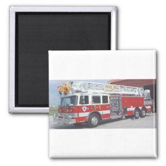fire truck magnet