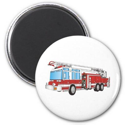 Fire Truck Fridge Magnets