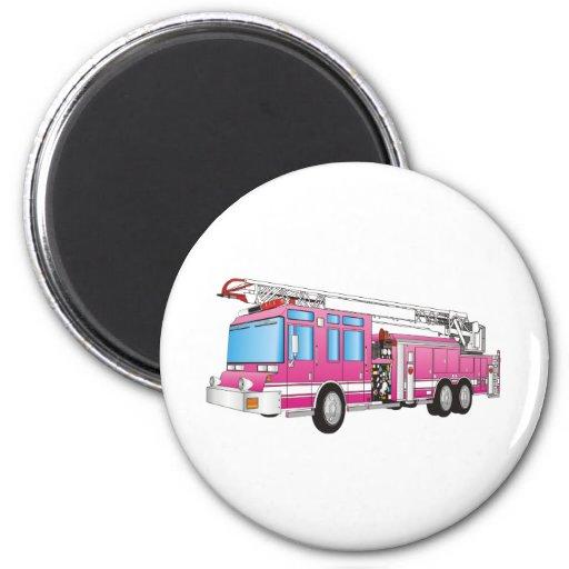Fire Truck Refrigerator Magnet