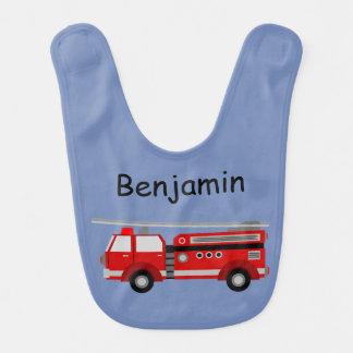 Fire Truck Named Bib