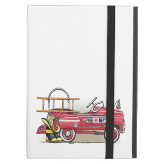 Fire Truck Pedal Car Cover For iPad Air