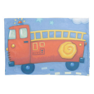 Fire Truck Pillowcase