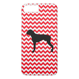 Fire Truck Red Chevron With Boxer iPhone 7 Plus Case