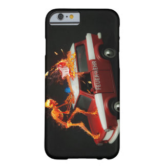 Fire truck skeleton barely there iPhone 6 case