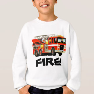 Fire Truck Sweatshirt