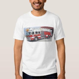 fire truck t shirt