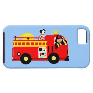 Fire Truck Tough iPhone 5 Case