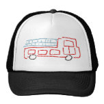 Fire truck trucker hat