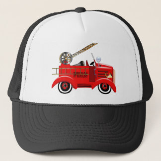 Fire Truck Trucker Hat