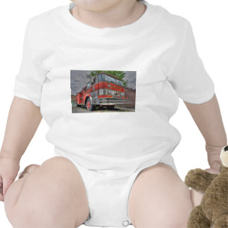Fire Truck Rompers