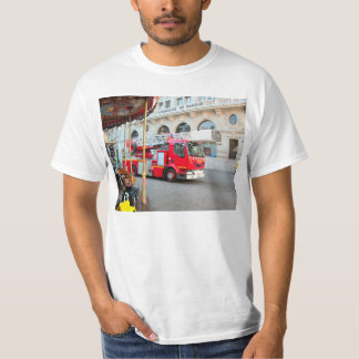 Fire truck with extending ladders T-Shirt