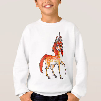 Fire Unicorn Sweatshirt