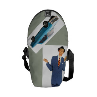 Fire up That Hot Rod Daddy-O, Jim's New Car Courier Bags