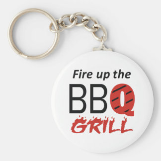 FIRE UP THE GRILL KEYCHAIN