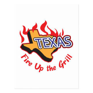 FIRE UP THE GRILL POSTCARDS