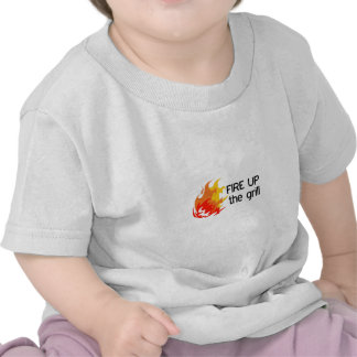 FIRE UP THE GRILL T SHIRT