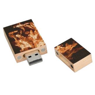 Fire USB 2.0 Maple USB Flash Wood USB 2.0 Flash Wood USB 2.0 Flash Drive