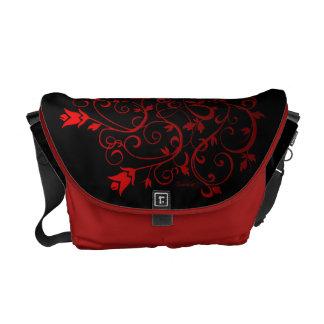 Fire Vine #1b Messenger Bags