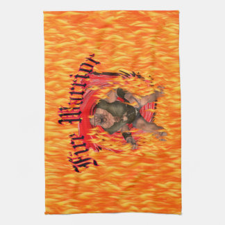 Fire Warrior American MoJo Kitchen Towel