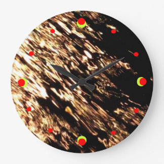 Fire Water Wall Clock