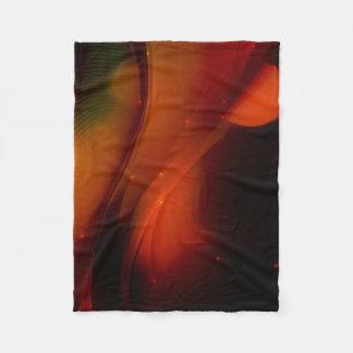 Fire Wave Fleece Blanket