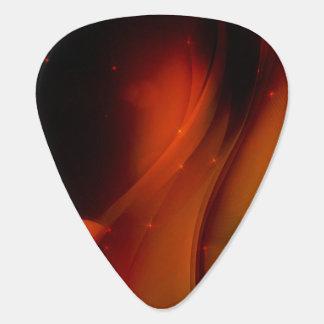 Fire Wave Guitar Pick