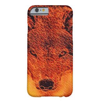 Fire Wolf Fantasy Fractal Art iPhone 6/6s Case