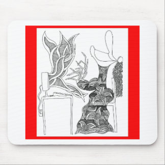 fire writer mouse pad