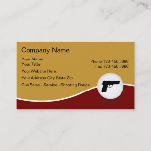 Firearms business cards zazzle uk firearms business cards colourmoves