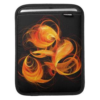 Fireball Abstract Art iPad Sleeve