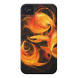Fireball Abstract Art iPhone 4 / 4S iPhone 4 Covers