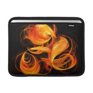 Fireball Abstract Art Macbook Air MacBook Sleeve