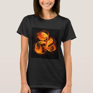 Fireball Abstract Art T-Shirt