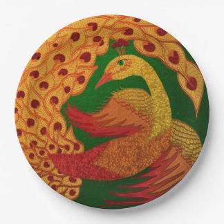 Firebird Paper Plate
