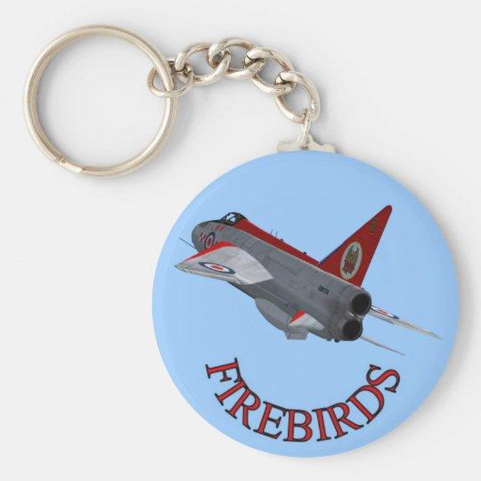 Firebirds Lightning Keychain