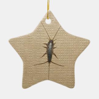 firebrat insect christmas ornament