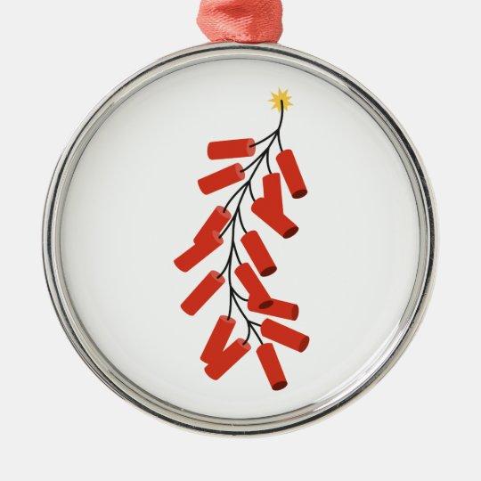 Firecrackers Christmas Ornament