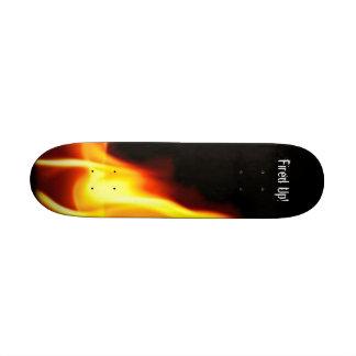 Fired Up Skate Board