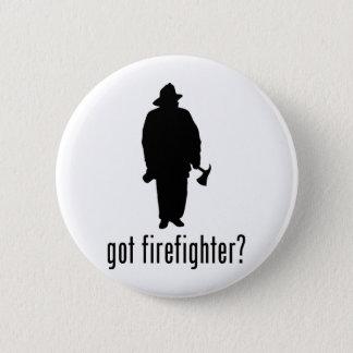 Firefighter 6 Cm Round Badge