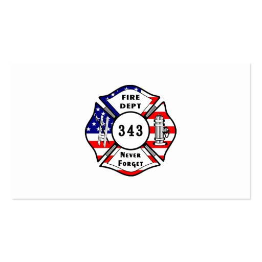 Create your own firefighter business cards page2 firefighter 911 never forget 343 business card colourmoves